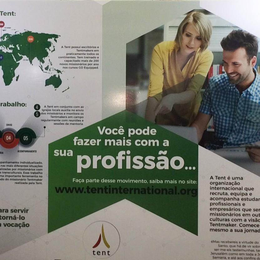 Tent Brasil levantavoo