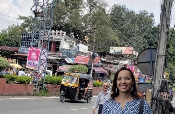Espiando a terra –India